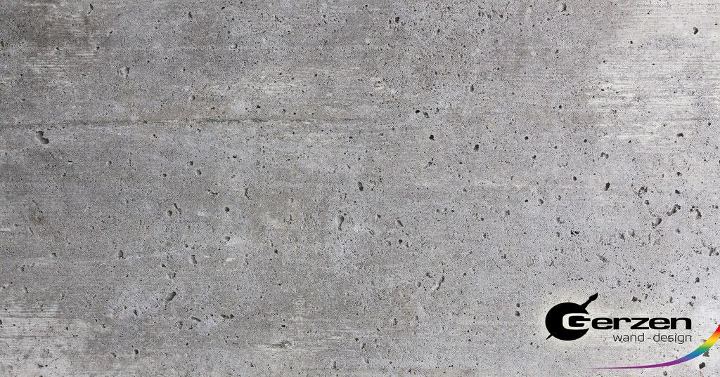 Sichtbeton, Betoneffekt für die Wandgestaltung