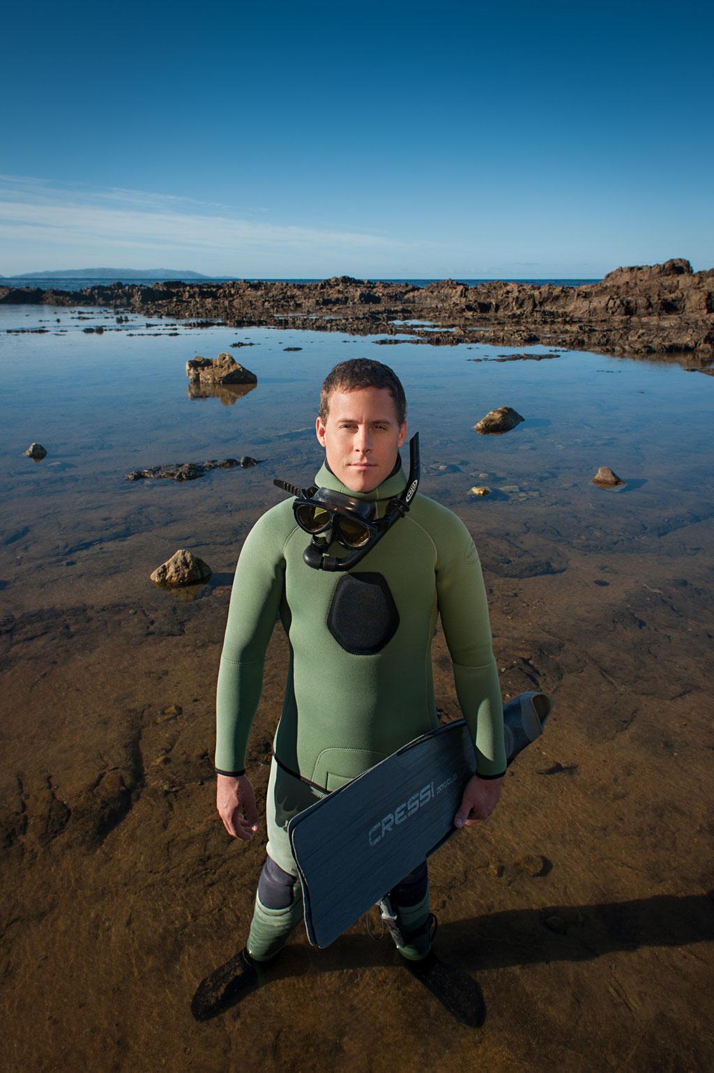 Matthew Pifer, Free Diver | Golden Cove in Palos Verdes, CA | 2012