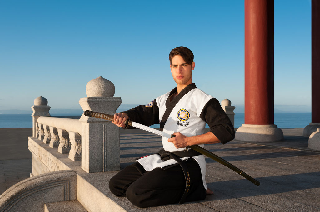 August Light, Martial Artist | Korean Bell of Friendship in San Pedro, CA | 2015