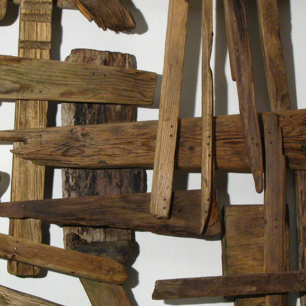 Gitter, Skulptur, Kraftobjekte Wolfgang Wallner Hall in Tirol