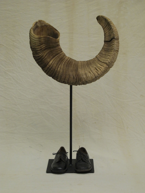 Das goldene Horn,  Kraftobjekte Wolfgang Wallner Hall in Tirol