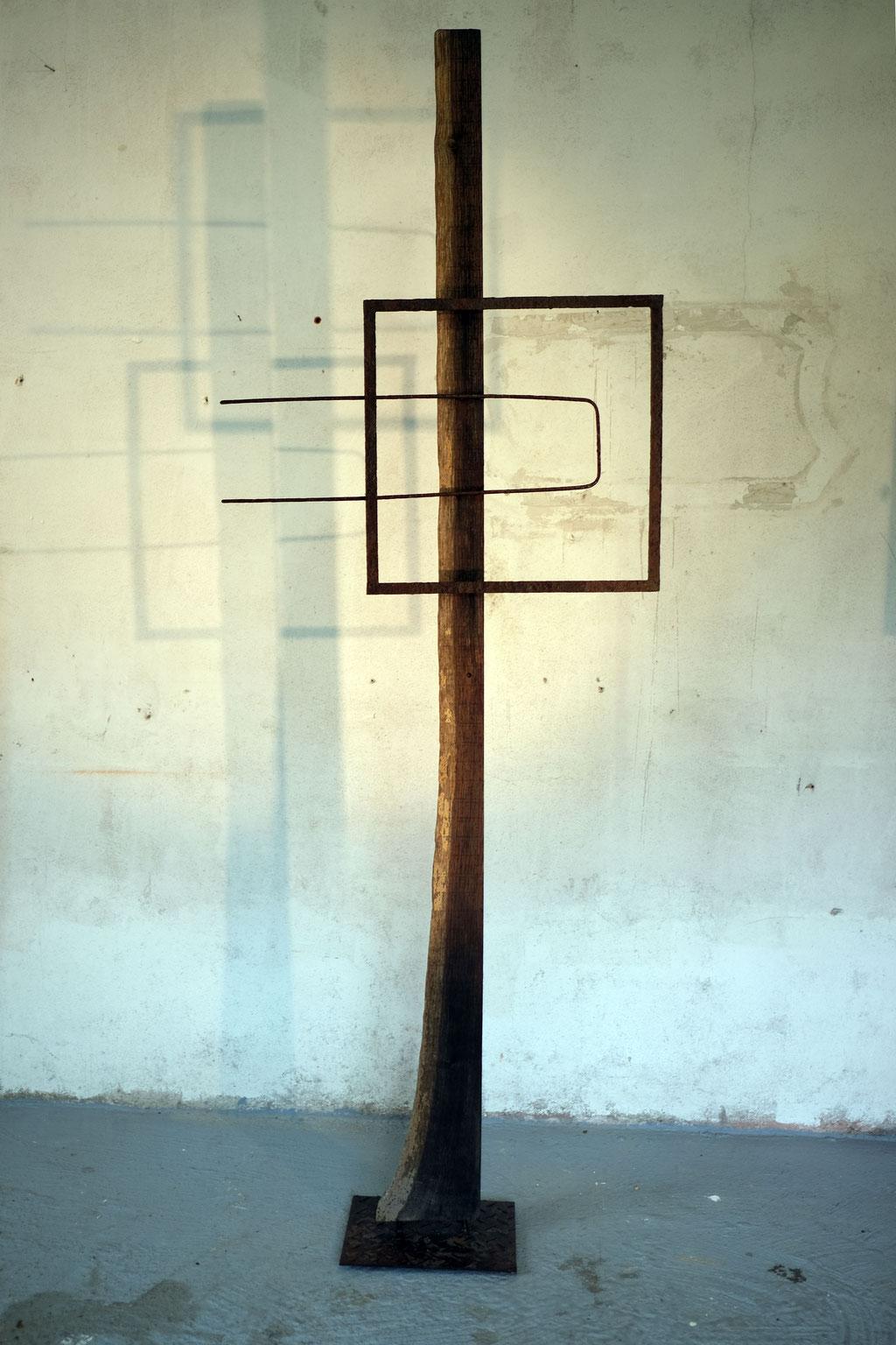 Stele, Objekt, Kunst, Wolfgang Wallner, Hall in Tirol
