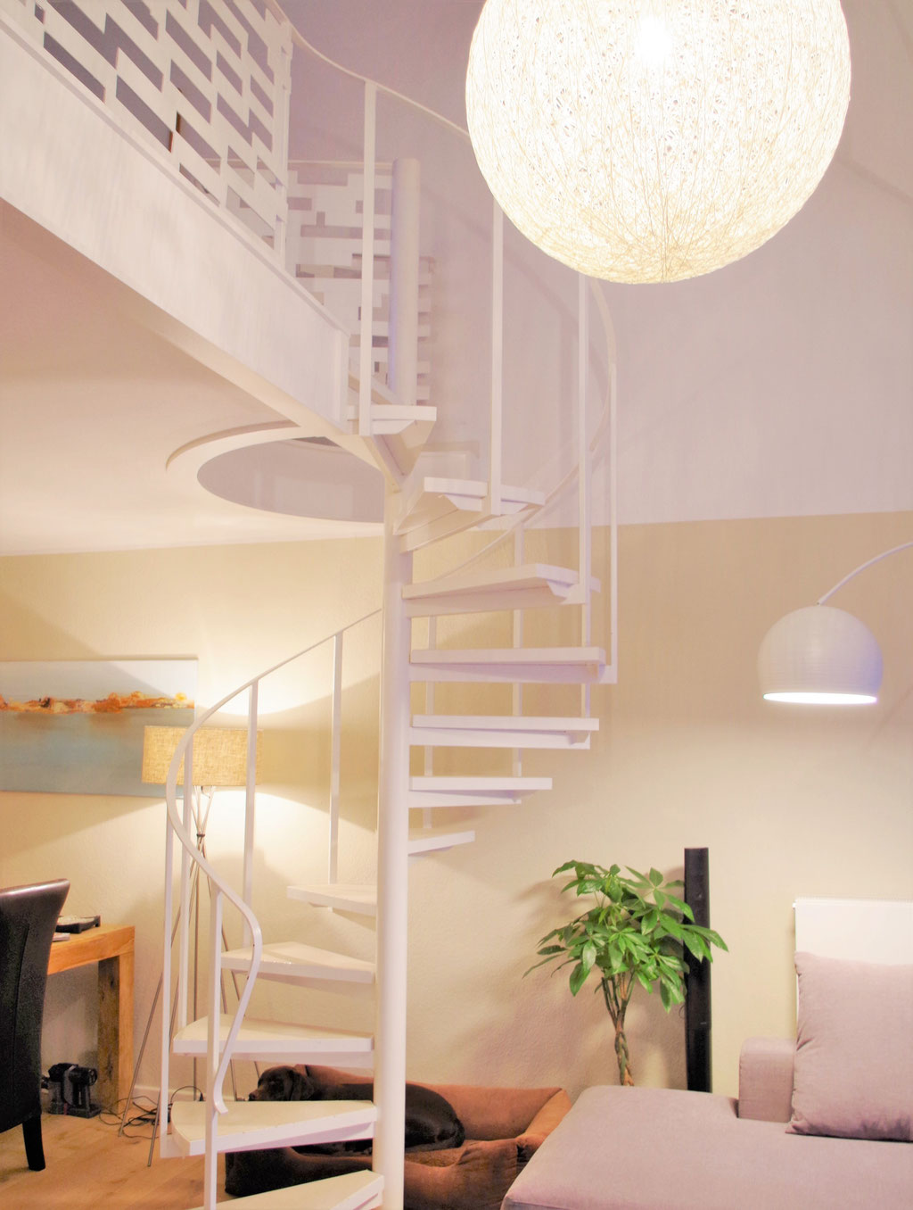 Wohnraumplanung Maisonette Köln, Rolf Kullmann, Innenarchitekt