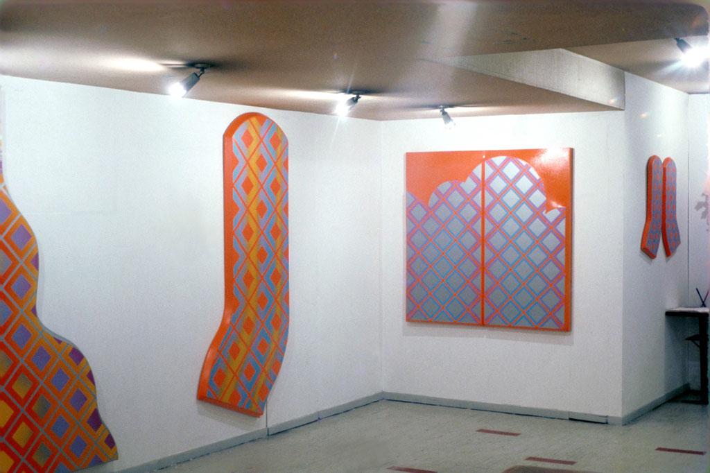 1968年 椿近代画廊 新宿/東京