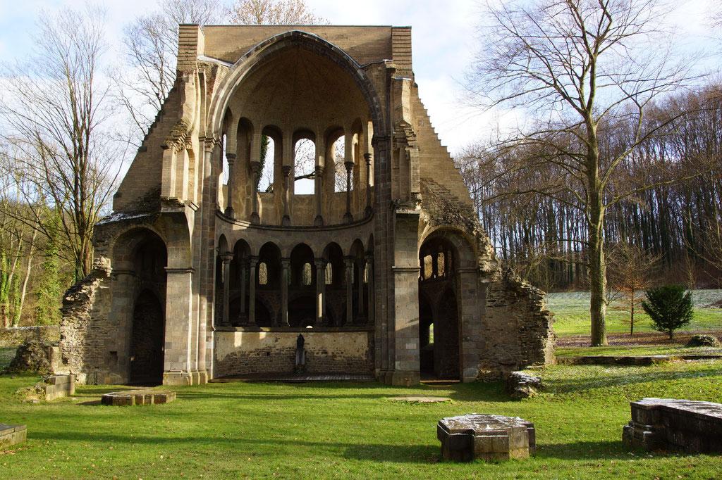 Chorruine Kloster Heisterbach im Siebengebirge