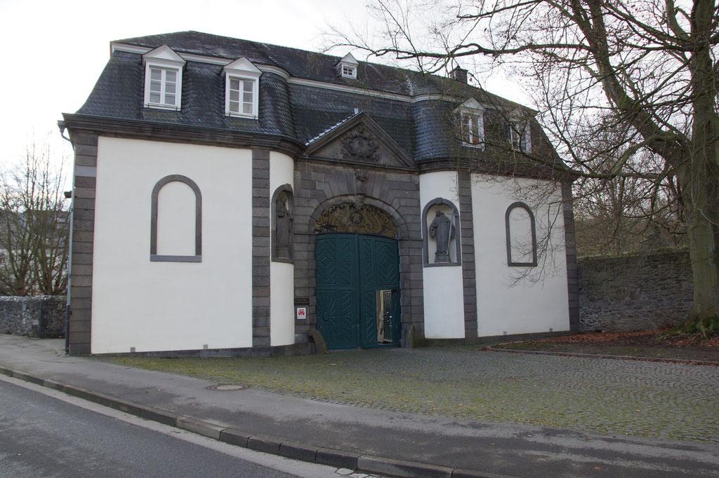 Eingang zum Kloster Heisterbach Tagungsstätte Imkertag Siebengebirge
