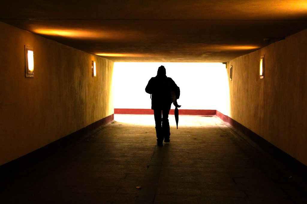 A light at the end of the Tunnel- Warsaw- January 2016