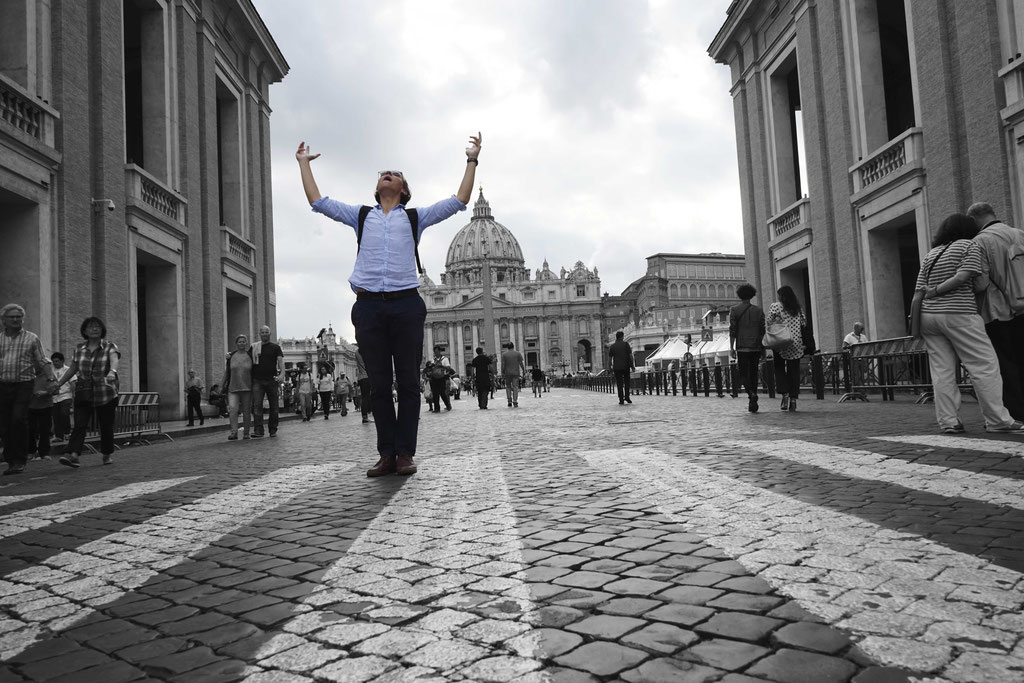 Thanks to Will Stanley for the help on this one. Feeling the light in Rome. June 2016