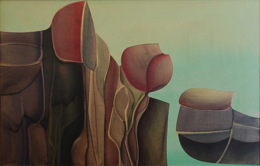 103 x 66 cm, huile sur panneau, 1978