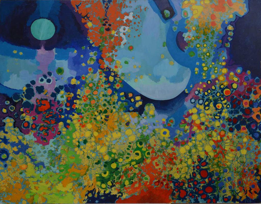 130 x 102 cm, huile sur panneau