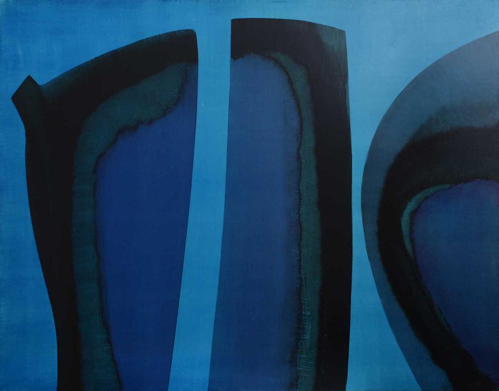 130 x 102 cm, huile sur panneau, 1976