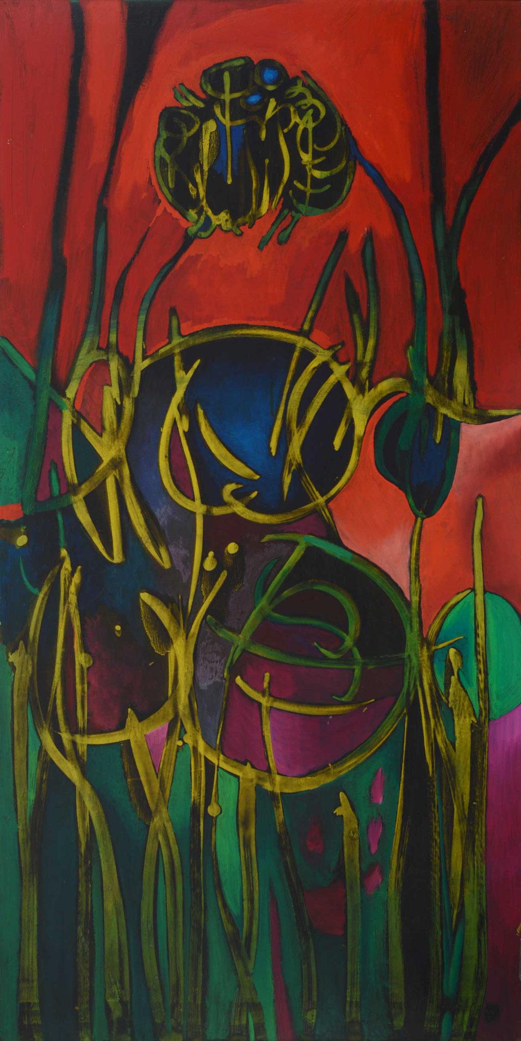 76 x 152 cm, huile sur panneau, 1966