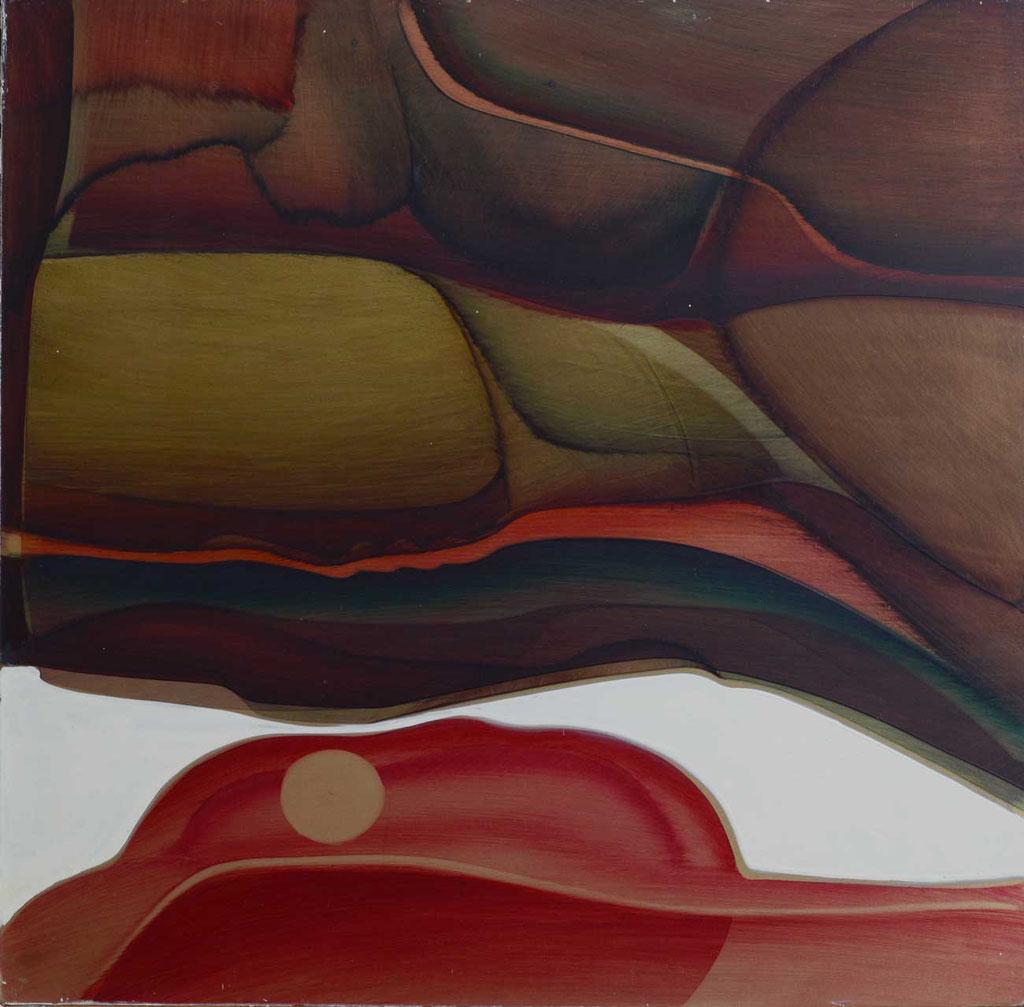 50 x 49 cm, huile sur panneau