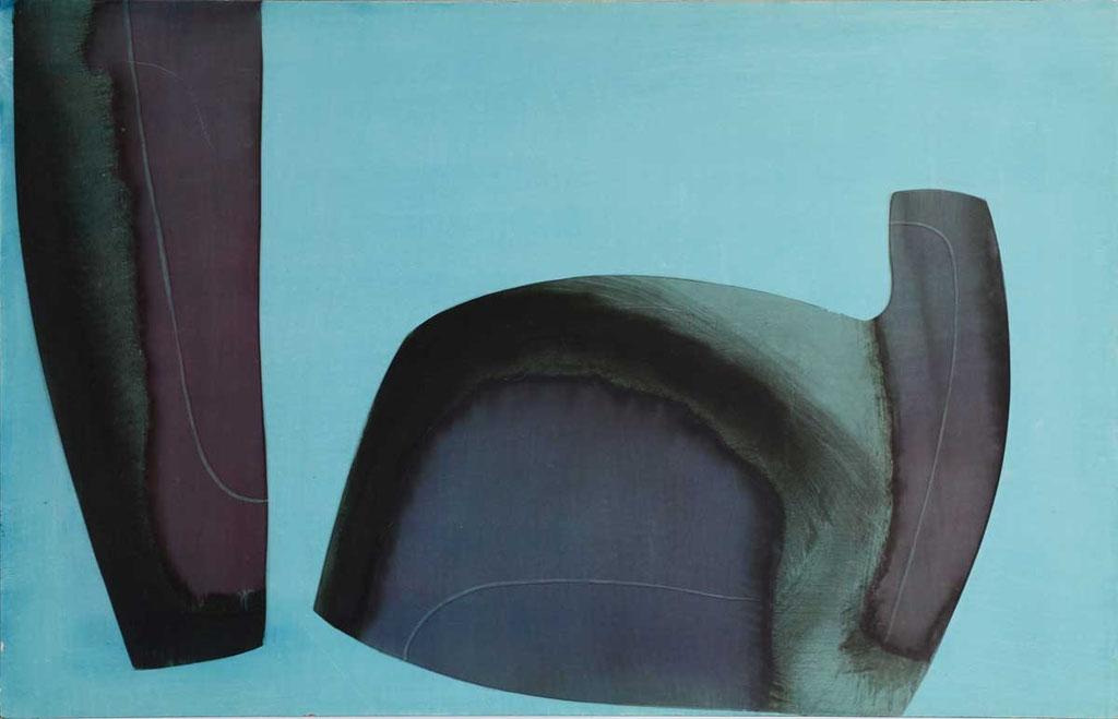 103 x 65 cm, huile sur panneau, 1976