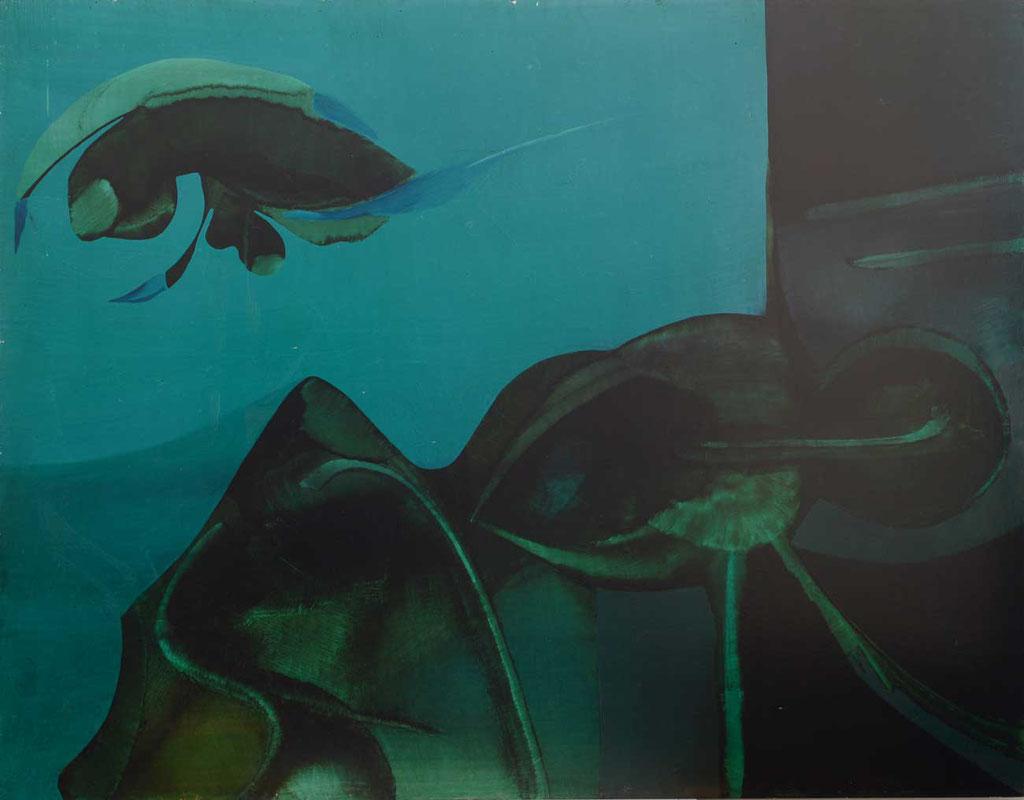 130 x 102 cm, huile sur panneau, 1975