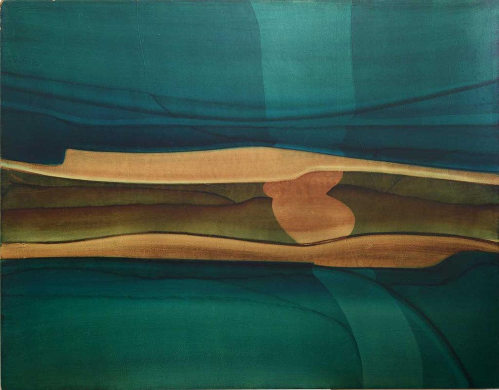 103 x 102 cm, huile sur panneau