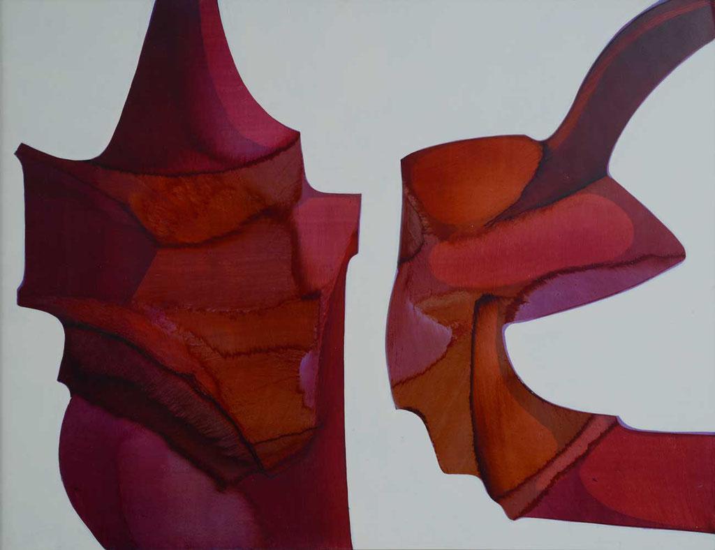 67 x 52 cm, huile sur panneau, 1977, Le Cirque