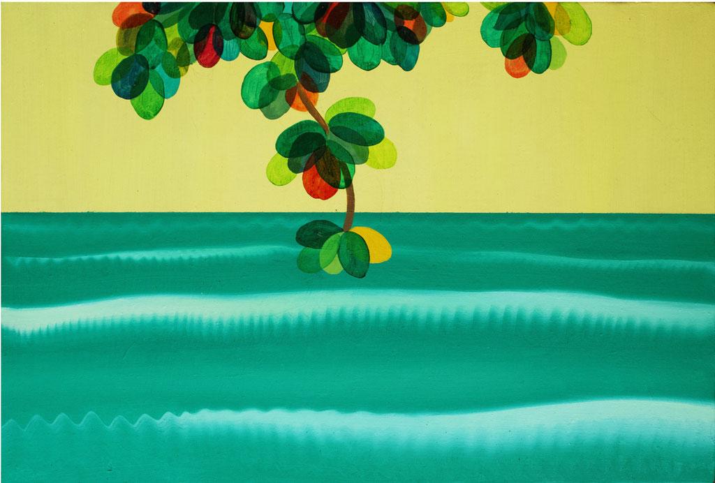 illa de Maré1(マレ島1),  油絵 / Oil Painting,  2018