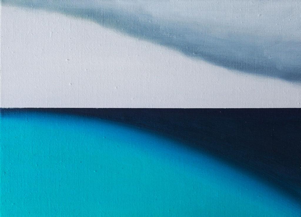 水平線2 / Horizon2,  油絵 / Oil Painting,  2018