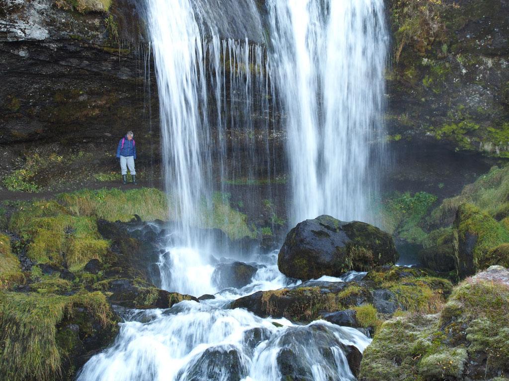 de Sheep's waterval IJsland