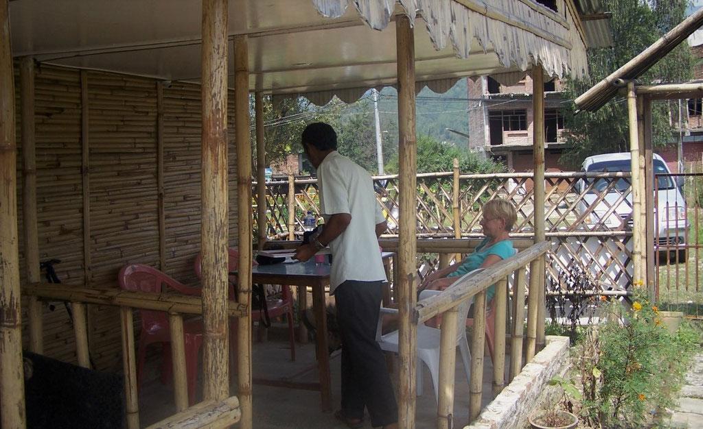 eetgelegnheid in Sankhu