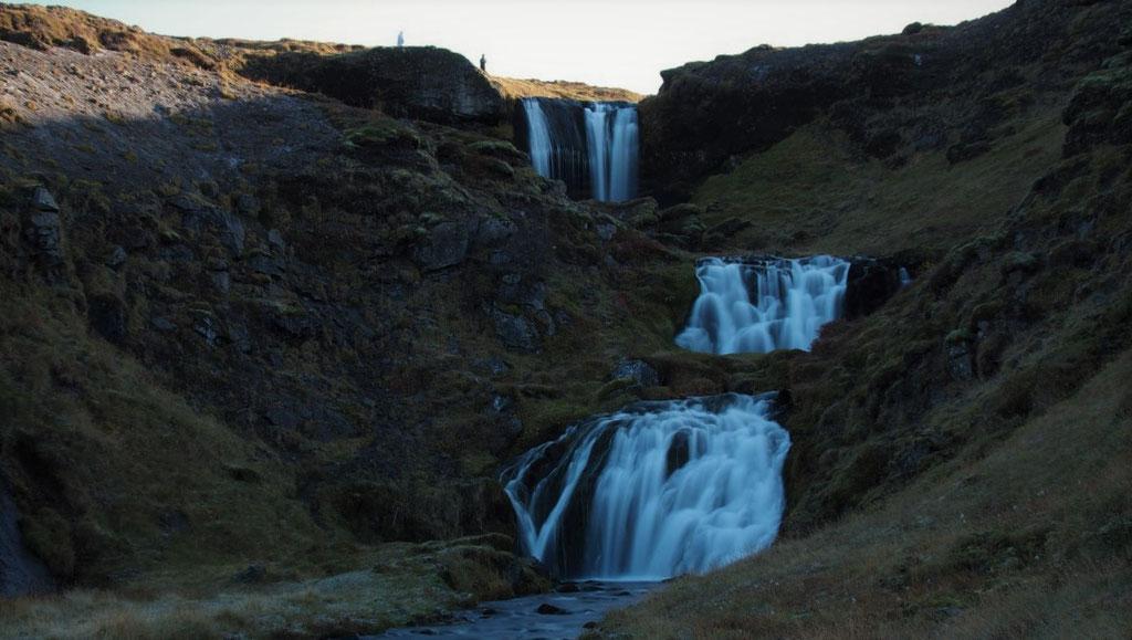 Sheep's  waterfall Iceland