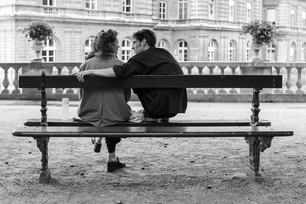 Les amoureux, Paris - France