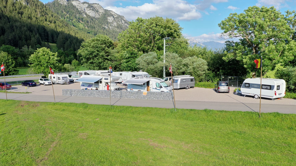 Wohnmobil-Stellplatz bei Füssen