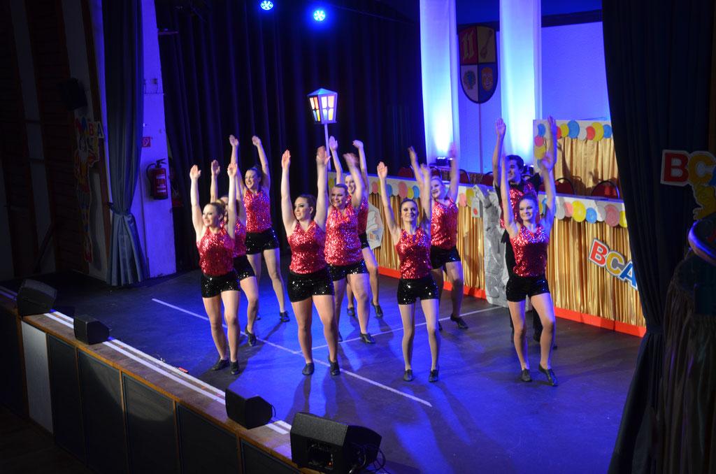 Die Tanzgruppe Infinity der BCA-Büttelborn.