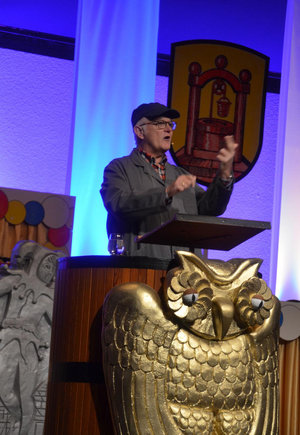 Unser Ehrenpräsident Hans-Werner Kabey erzählt über sein Rentnerdasein.