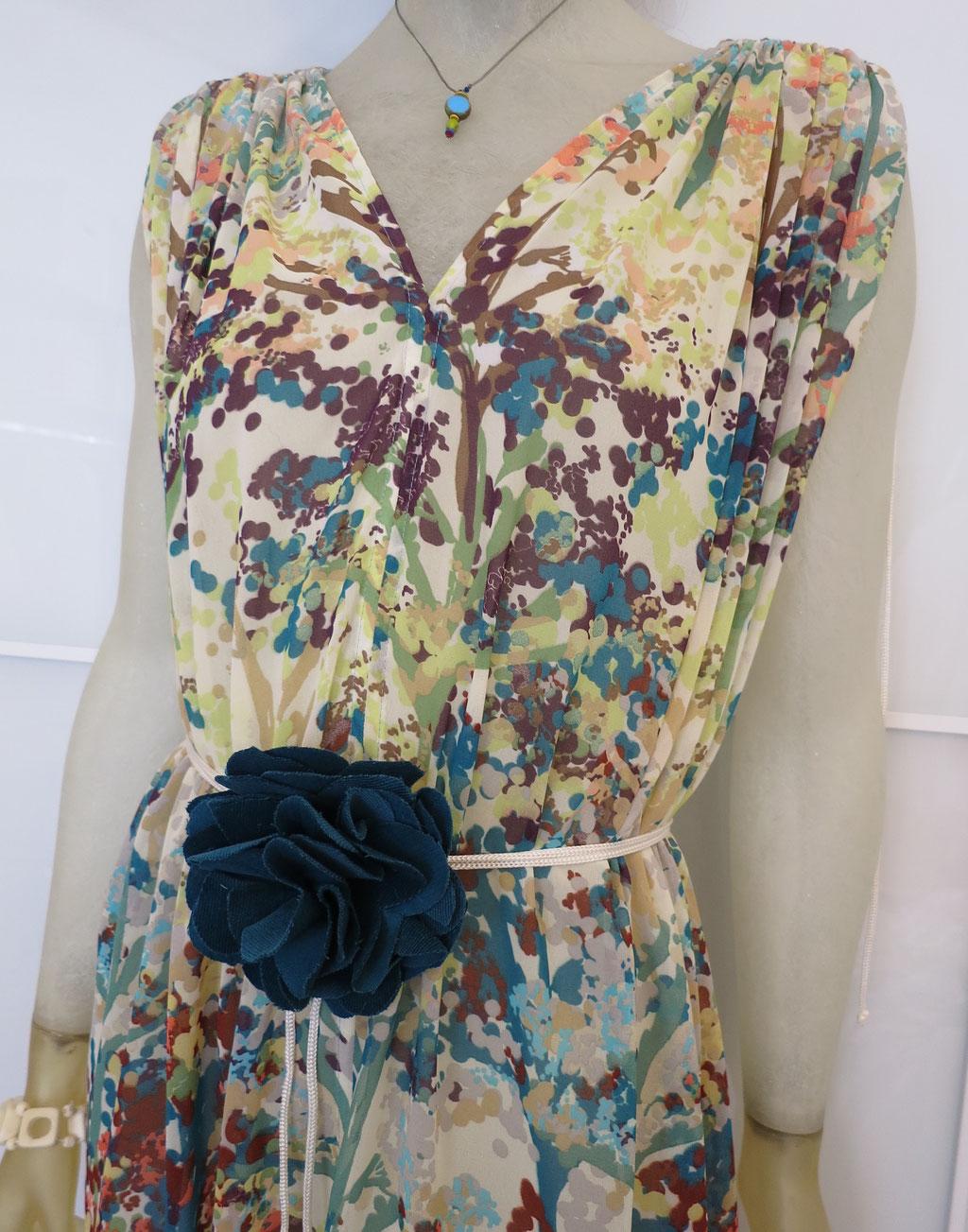 Kleid Aegina aus Viskosemischgewebe