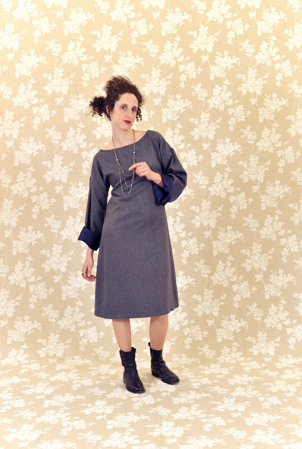 Kleid Nora aus diversen Faserarten