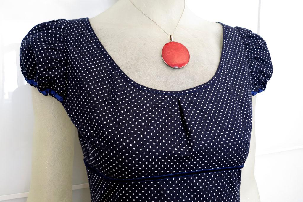 Kleid Cateline aus Baumwolle