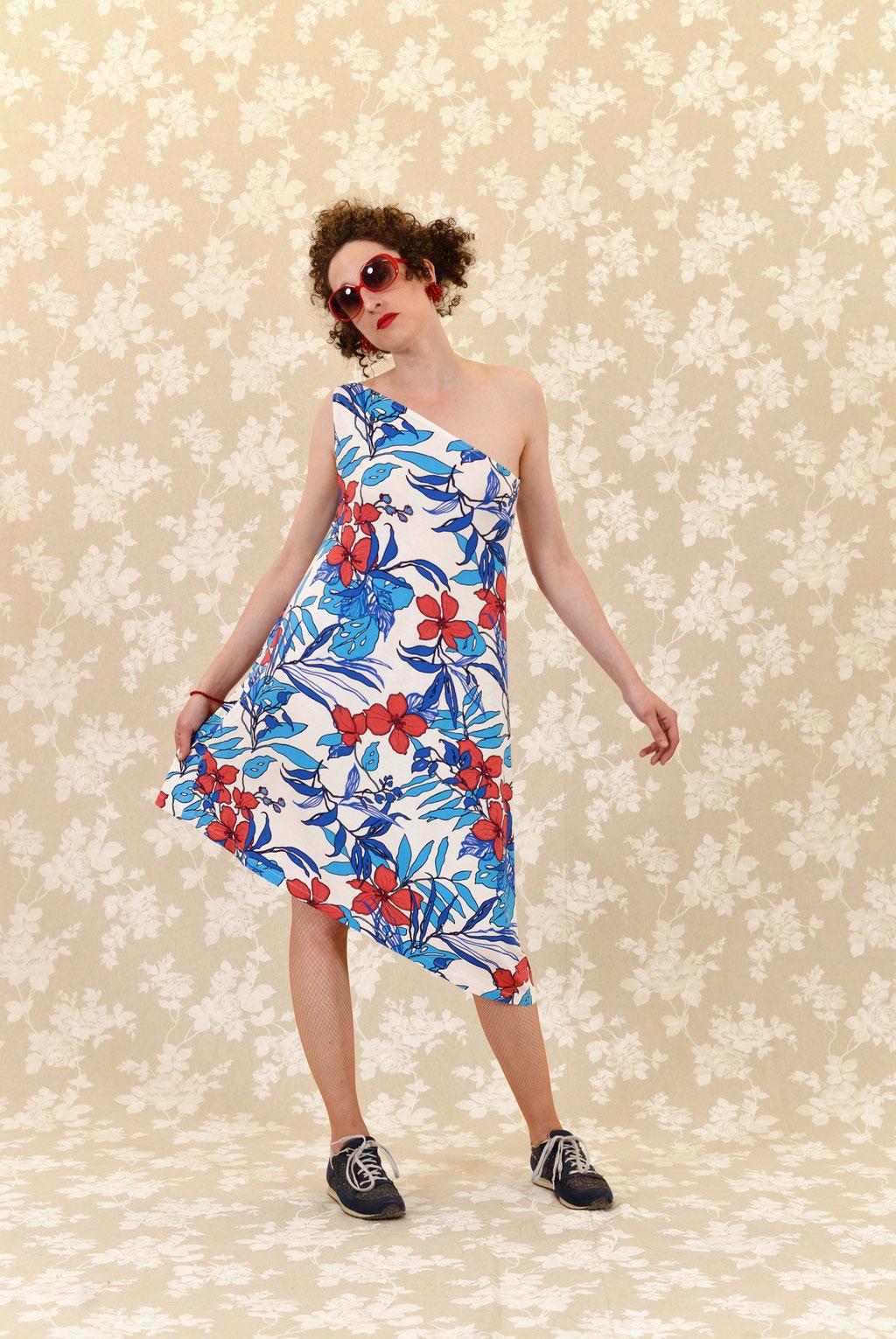 Kleid Alamea aus Baumwolljersey