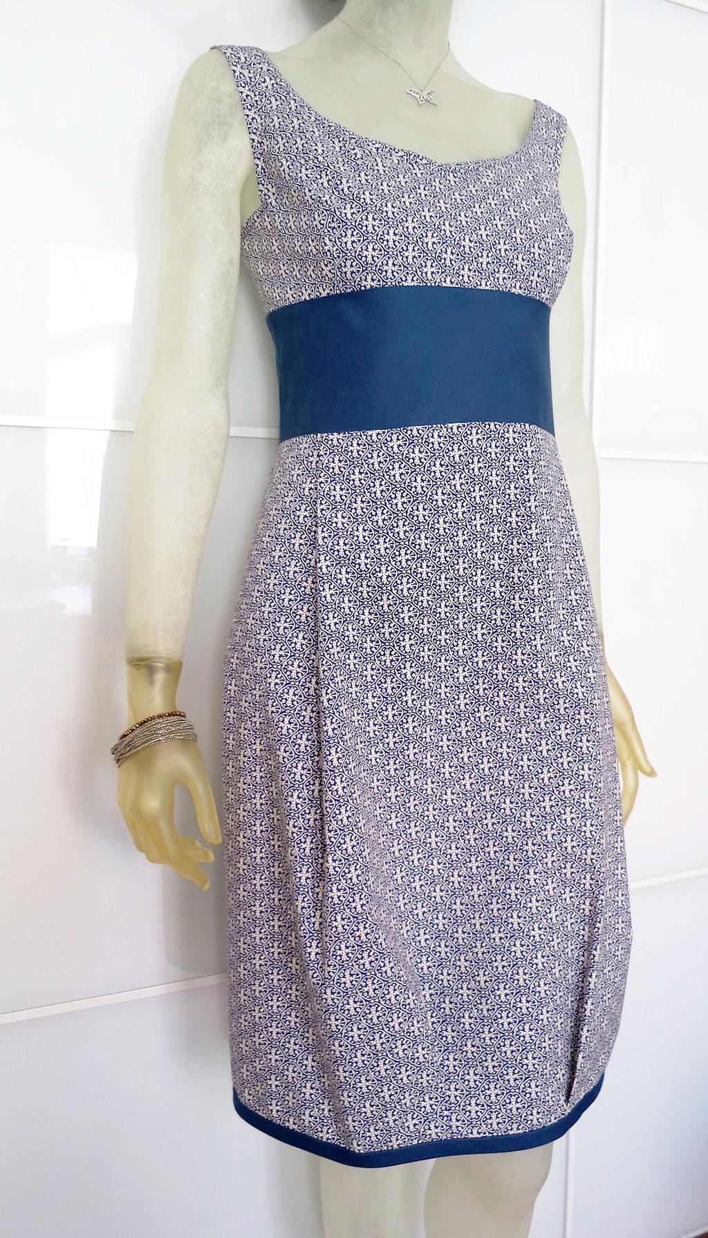 Kleid BIO-Abalaja aus Bio-Baumwolle kbA und Hanf
