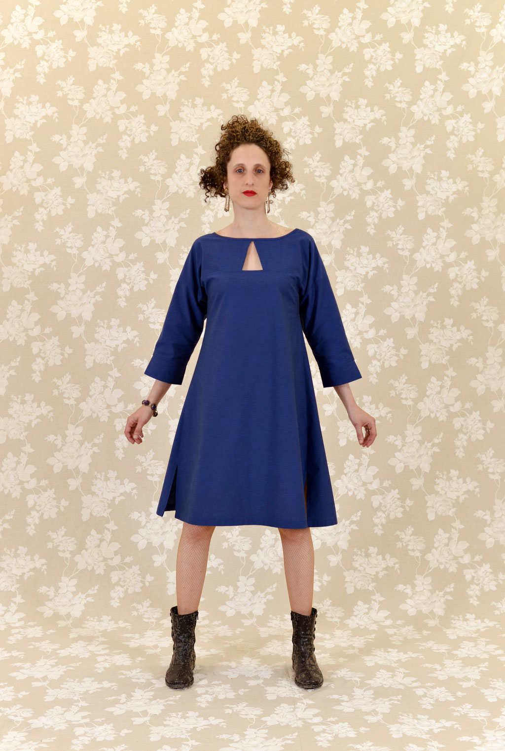 Kleid BIO-Nuri aus Bio-Baumwolle kbA, Chambray