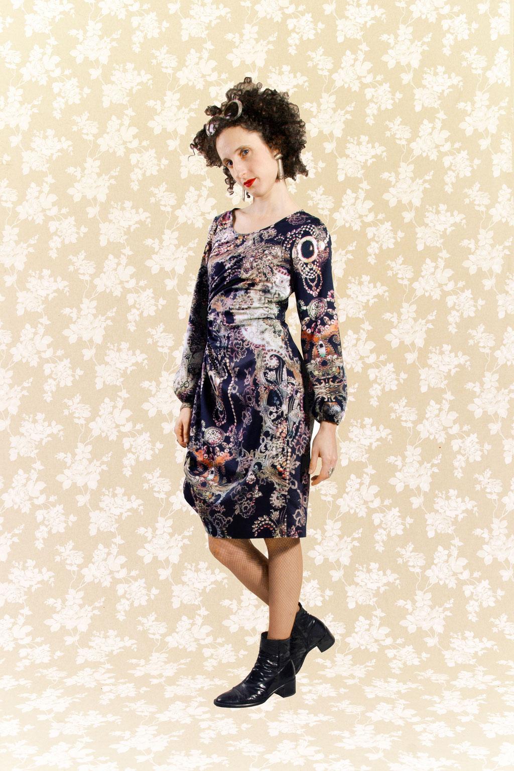 Kleid Adryelle aus Baumwolle