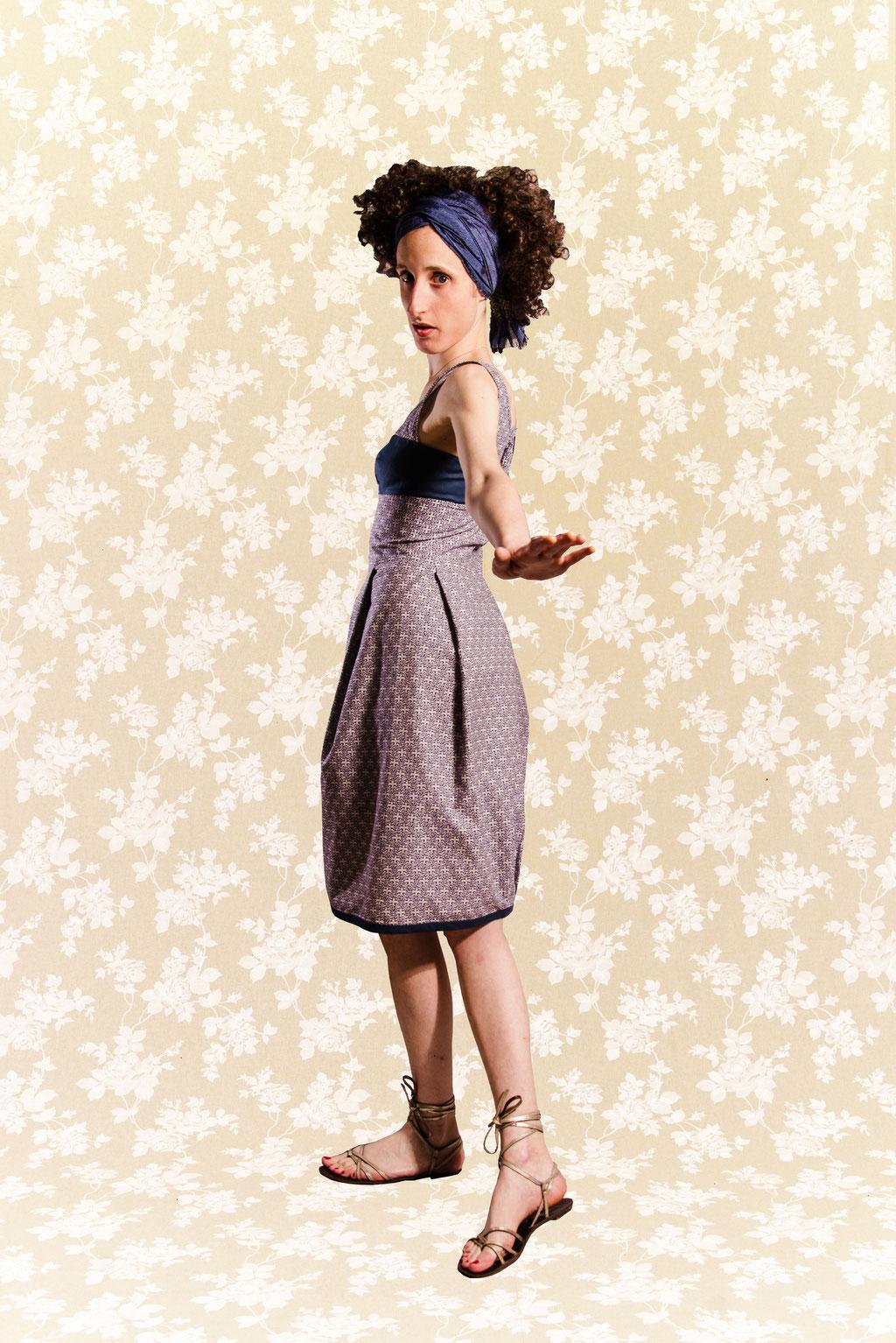 Kleid BIO-Tamaki aus Bio-Baumwolle kbA