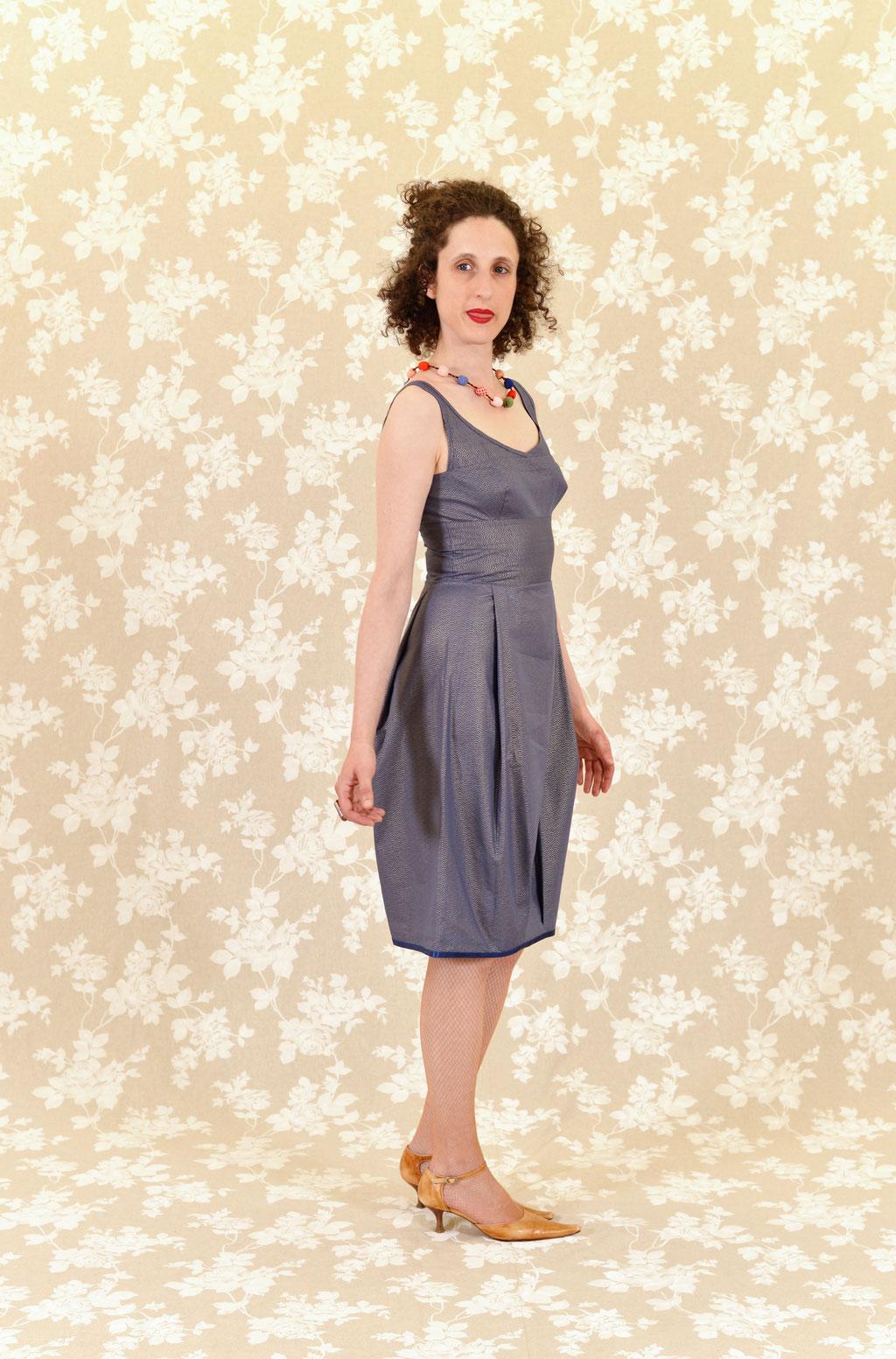 Kleid Abha aus Baumwolle