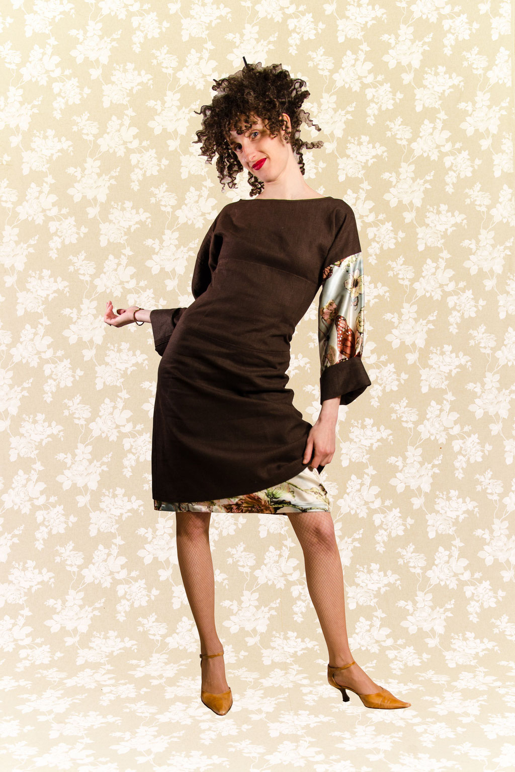 Kleid Yasuko aus Leinen