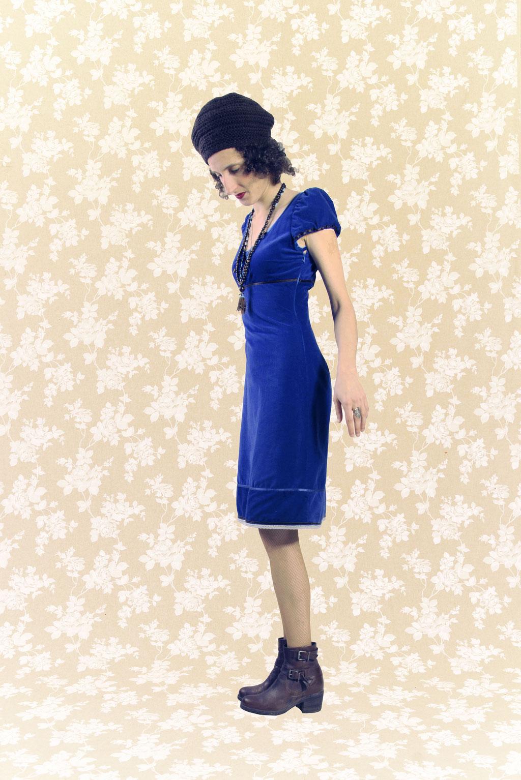 Kleid BIO-Mahalt aus Bio-Baumwolle kbA, Feincord
