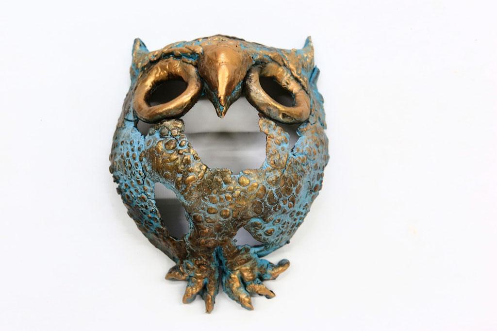 Wall Owl - Powertex
