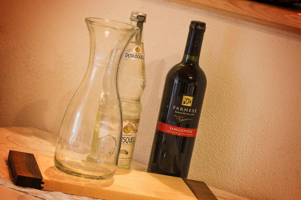 Begrüßungs-Wein