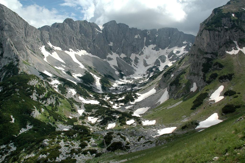 Hochgebirge in Montenegro