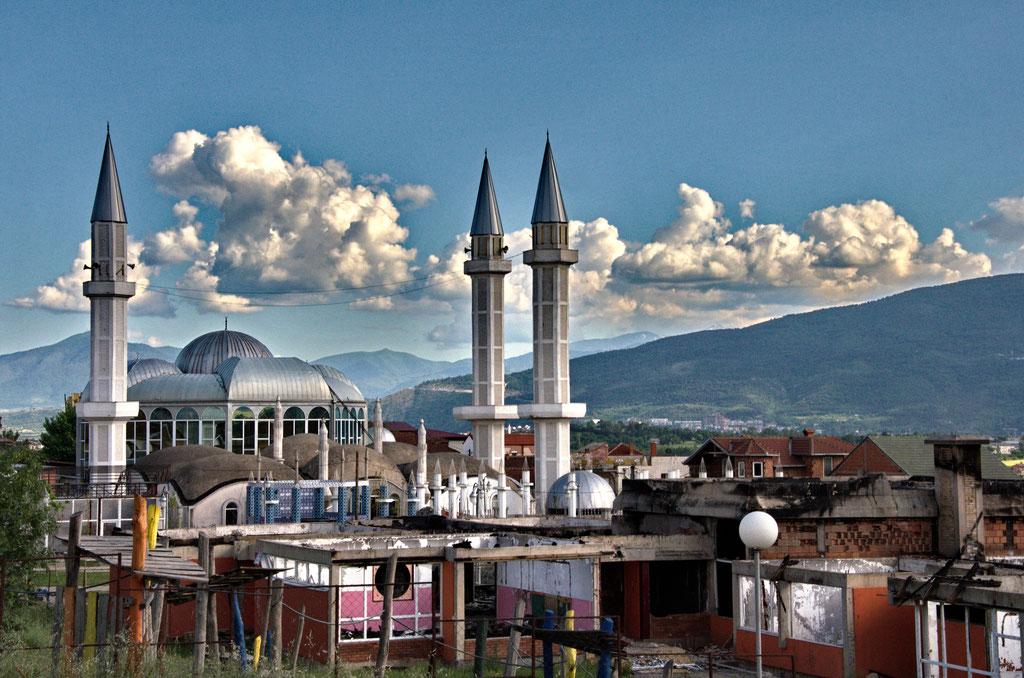 Im Roma-Viertel von Skopje, Mazedonien
