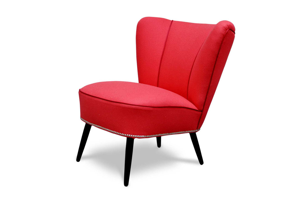 cocktail chair poltrone vintage anni 50
