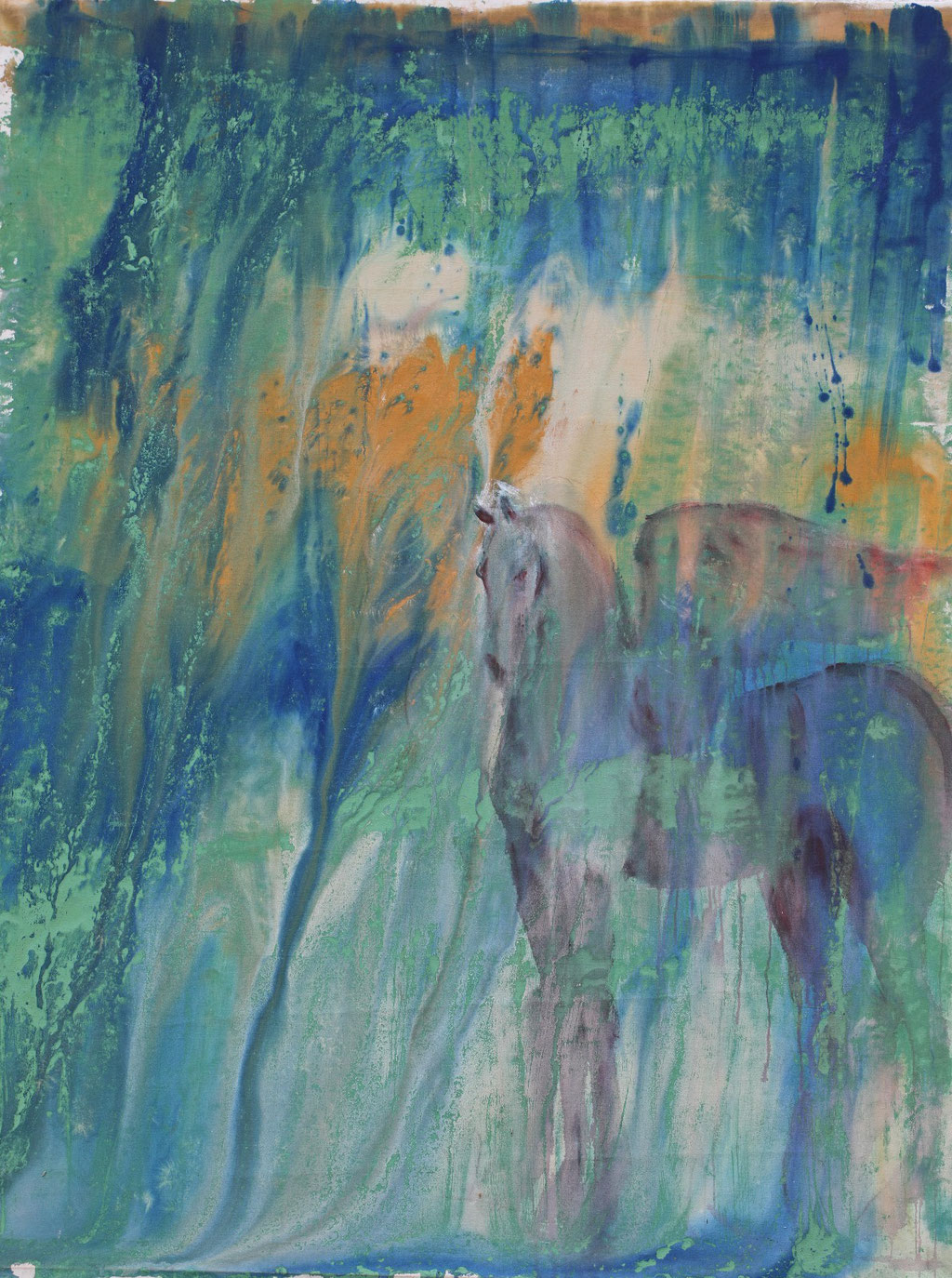 Pegasus - Acryl auf Leinwand 200x150cm - 2013 Dominikanische Republik