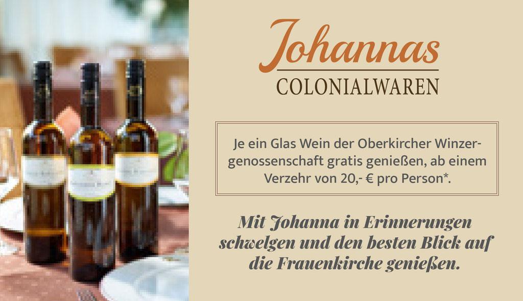 JOHANNAS COLONIALWAREN