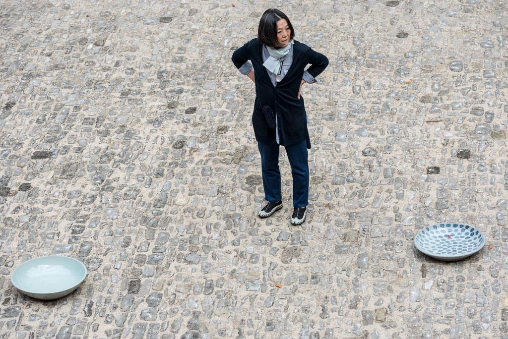 Young-Jae Lee, Keramische Gefäße, 29.6._24.8. 2014, Schloss Detmold