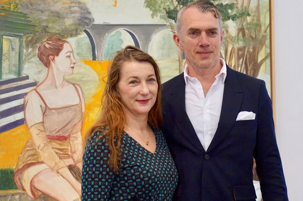 Rosa Loy und Neo Rauch, 2.4._7.5. 2017, Schloss Detmold